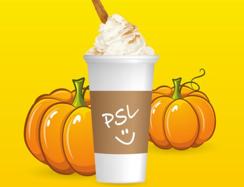 Pumpkin Spice Latte iMessage Stickers
