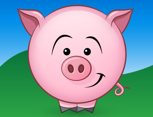 Wiggly the Piggly iMessage Sticker Pack