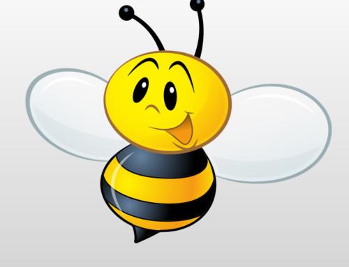 Zip the Bee iMessage Sticker Pack